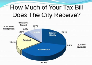 Parkland Fl where do your taxes go?