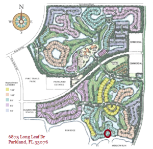 Buying a home in Parkland Golf and Country Club: 6875 Long Leaf