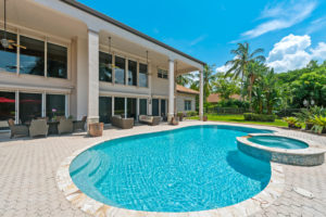 parkland Florida home and pool